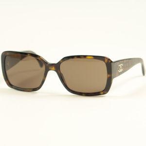 Chanel 5213 Tortoise Brown CC Logo Sunglasses